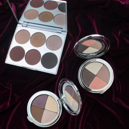 Color palettes from La Bella Donna Mineral Makeup, the best quality mineral makeup.